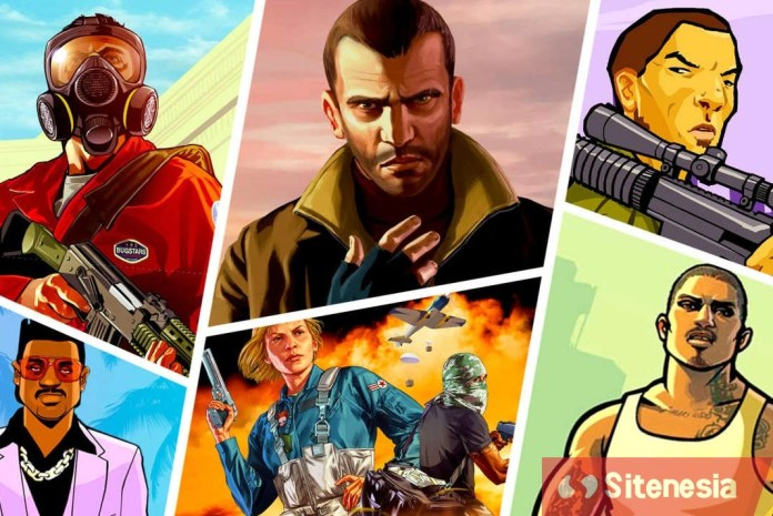 Gambar Cover Download Grand Theft Auto GTA Vice City MOD APK Versi Terbaru Untuk Android Unlimited Money Uang Tak Terbatas