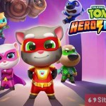Gambar Cover Download Talking Tom Hero Dash MOD APK Versi Terbaru Unlimited Money Gratis Untuk Android