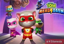 Gambar Cover Game Download Tom Hero Dash Baru MOD APK Versi Terbaru