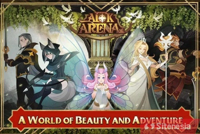 Gambar Game Download AFK Arena MOD APK Versi Terbaru God Mode