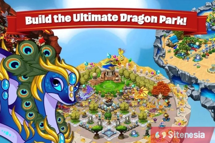 Gambar Gameplay Game Download DragonVale MOD APK Versi Terbaru Baru