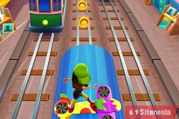 Gambar Screenshoot Gameplay Download Subway Surfers MOD APK Versi Terbaru Gratis Baru