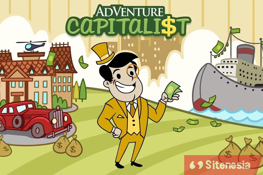 Gambar Cover Game Download Adventure Capitalist MOD APK Versi Terbaru Unlimited Money Untuk Android Gratis Dan Baru