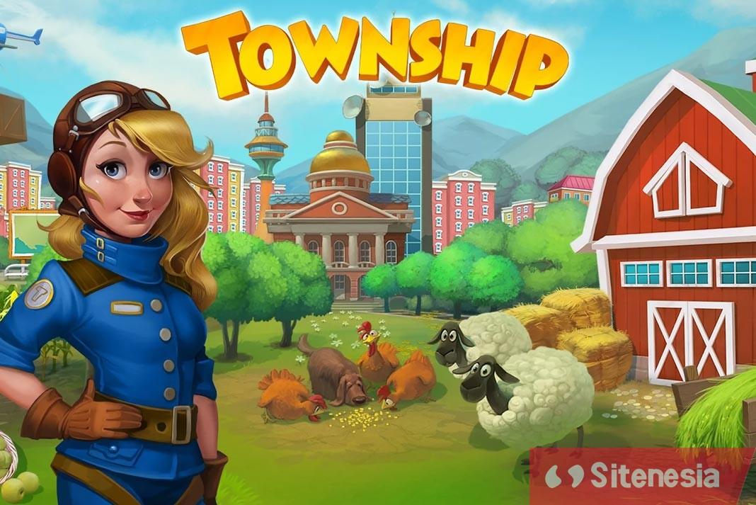 Gambar Cover Game Download Township MOD APK Versi Terbaru Untuk Android Unlimited Money Secara Gratis