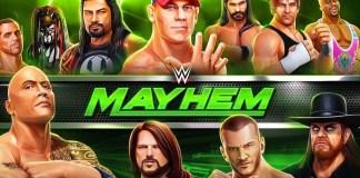 Gambar Cover Game Download WWE Mayhem MOD APK Versi Terbaru Untuk Android Gratis Unlimited Gold Dan Cash Baru