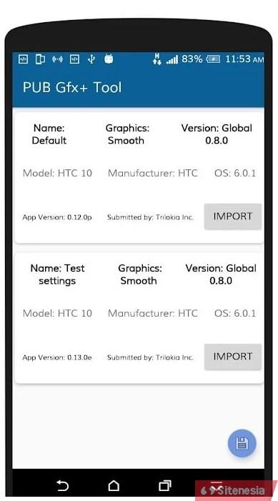 Gambar Screenshoot Aplikasi Download PUB GFX+ Tool APK Versi Terbaru NOLAG NOBAN Dengan Advance Settings Gratis