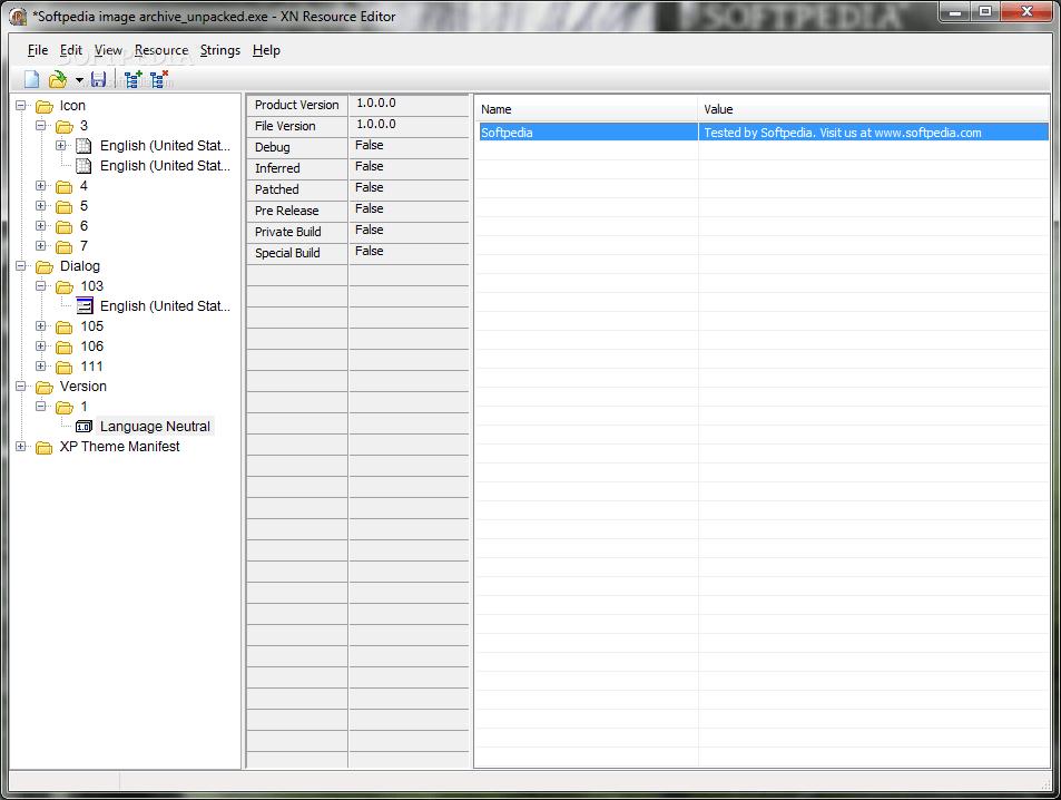 XN Resource Editor Portable