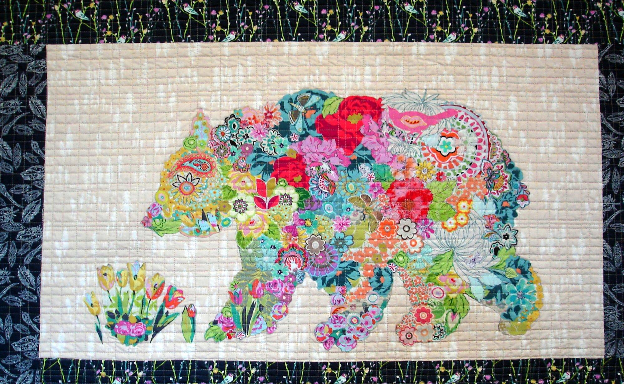 Bear Paw Quilt Block Pattern