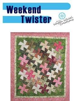 Weekend Twister Quilt Pattern