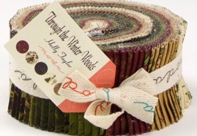 Through The Winter Woods Jelly Roll Fabric Picture
