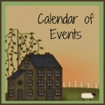 Calendar of Events at The Quilt Rack & Wool Cubby