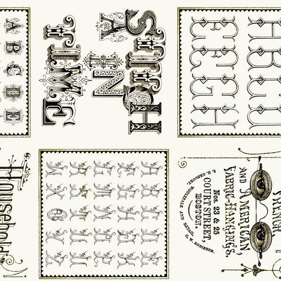 Letter Stitch 24054E
