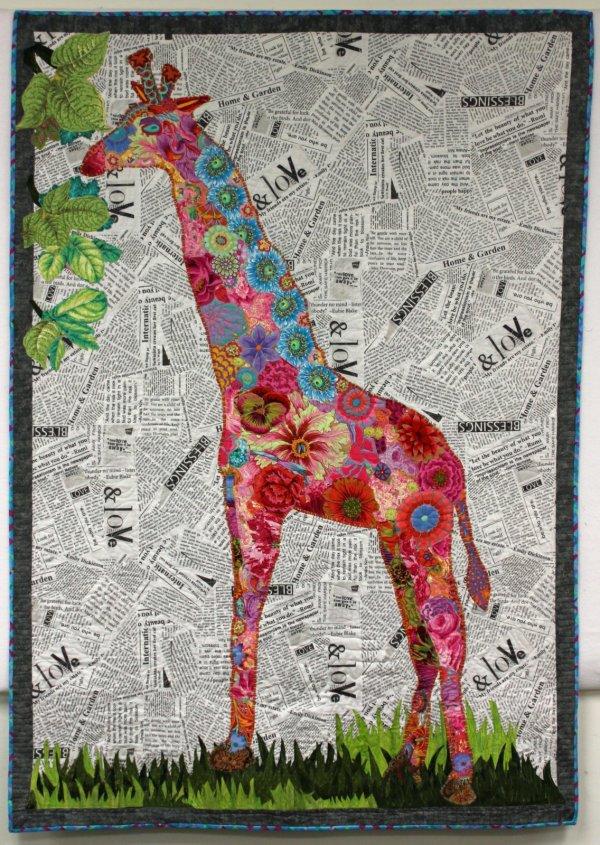 Fabric Collage Quilt