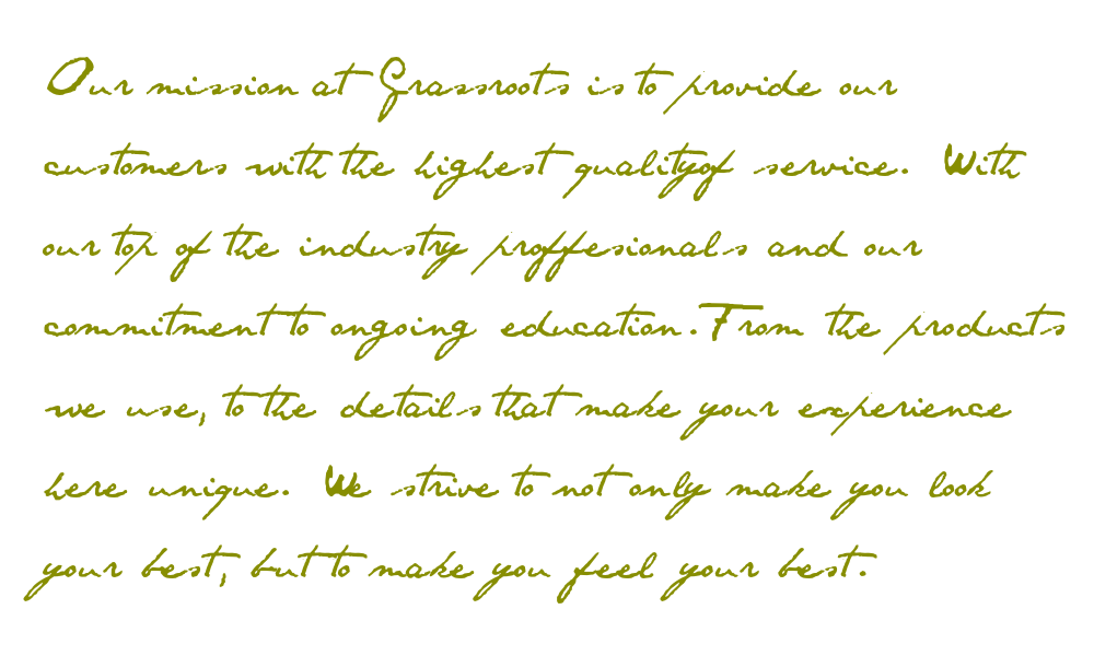 Spa Mission Vision Statement Examples