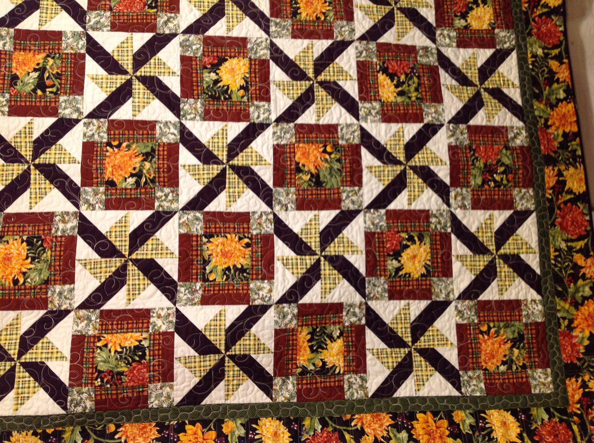 Designed By Roxanne Carter, This 2015 Quilt Uses All Eight