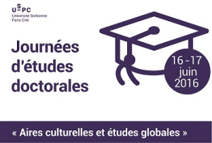 Journées d'études doctorales « Aires culturelles et études globales » @ Inalco - Salle 3.08 | Paris-13E-Arrondissement | Île-de-France | France