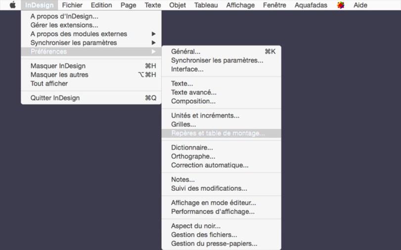 Astuce InDesign : augmenter l'espace de la table de montage