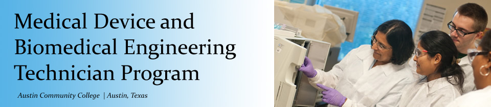 ACC Medical Device and Biomedical Engineering Technician Program