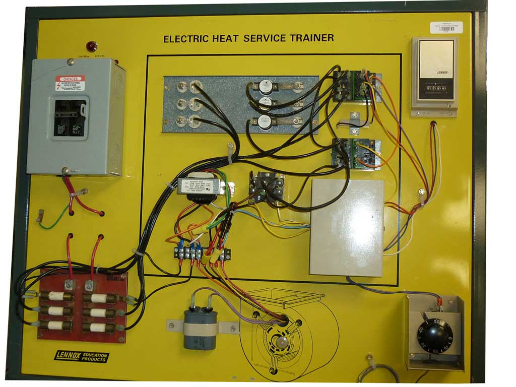 Actual Circuit Board Whichthe Students Use To Check Their Circuits