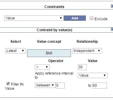Constraints | i2b2