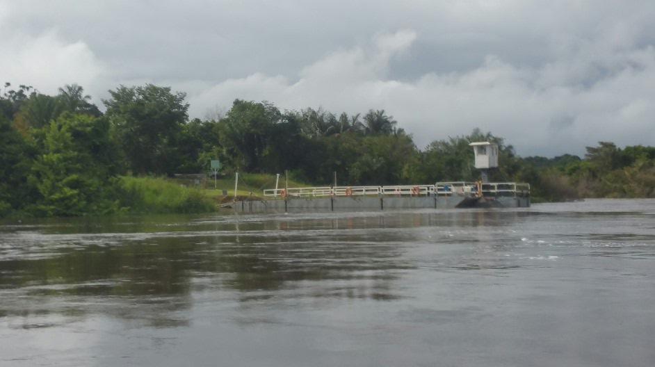 Main road ferry