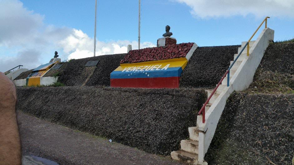 Venezuela boarder