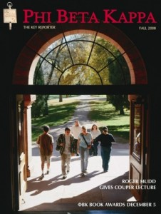 Phi Beta Kappa The Key Palmer Hall