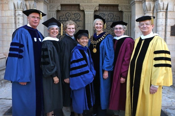Opening Convocation 2013 outside