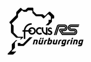Nurburgring Ford Focus RS Car Sticker