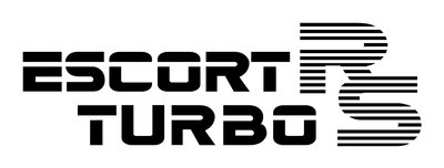 Escort RS Turbo Series 1 Replacement Tailgate Sticker