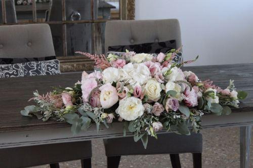Bespoke Wedding Top Head Table Arrangements Delivery