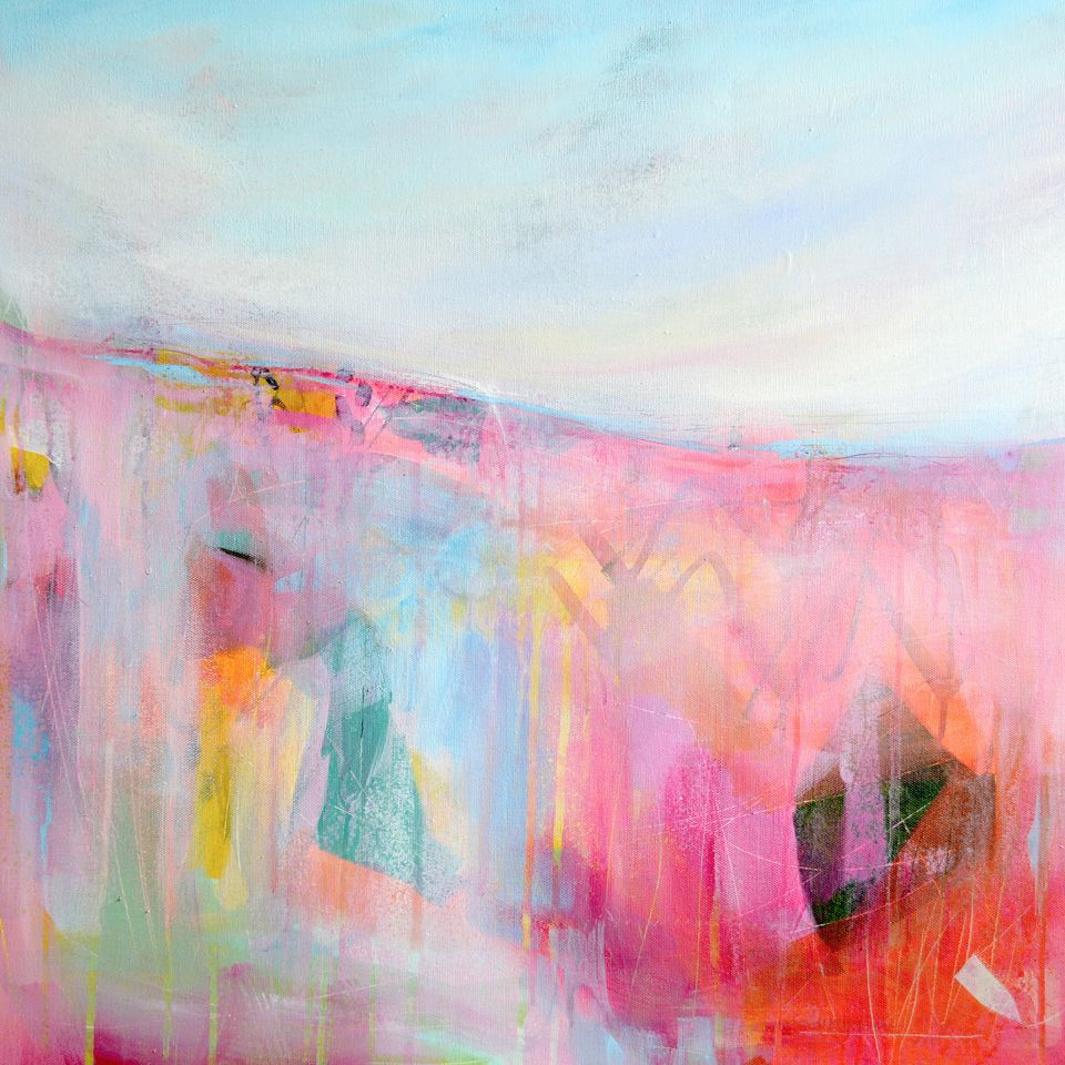 Abstract Landscape Giclee Print Paper Fine Art