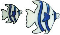 Handmade Peelable Decoration - Set of Two Fish