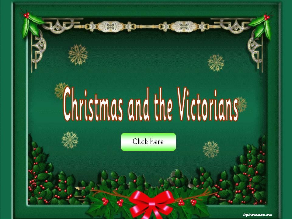 EYFS KS1 SEN IPC Victorian Christmas Festivals