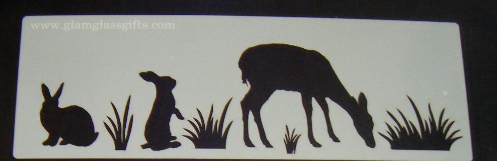 Animals Stencil