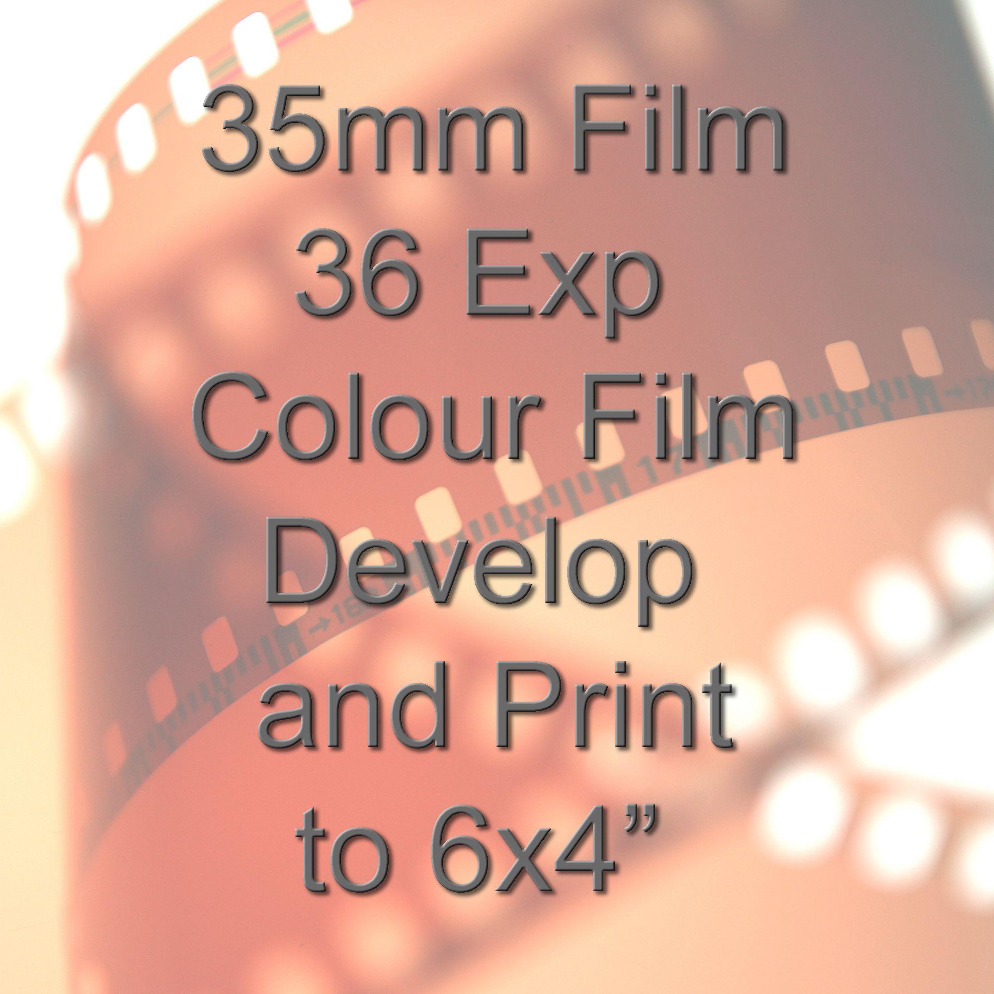 35mm colour film processing