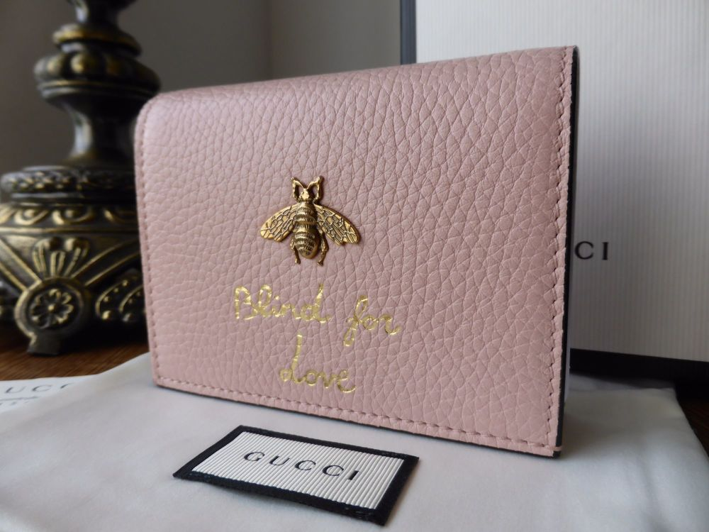 Gucci Animalier Bee Blind For Love Card Case SOLD