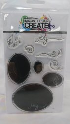 Imagine Design Create Solid Oval A6 solid stamps