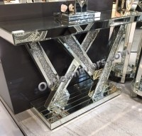 *Diamond Crush crystal Sparkle Shards Console Table item ...