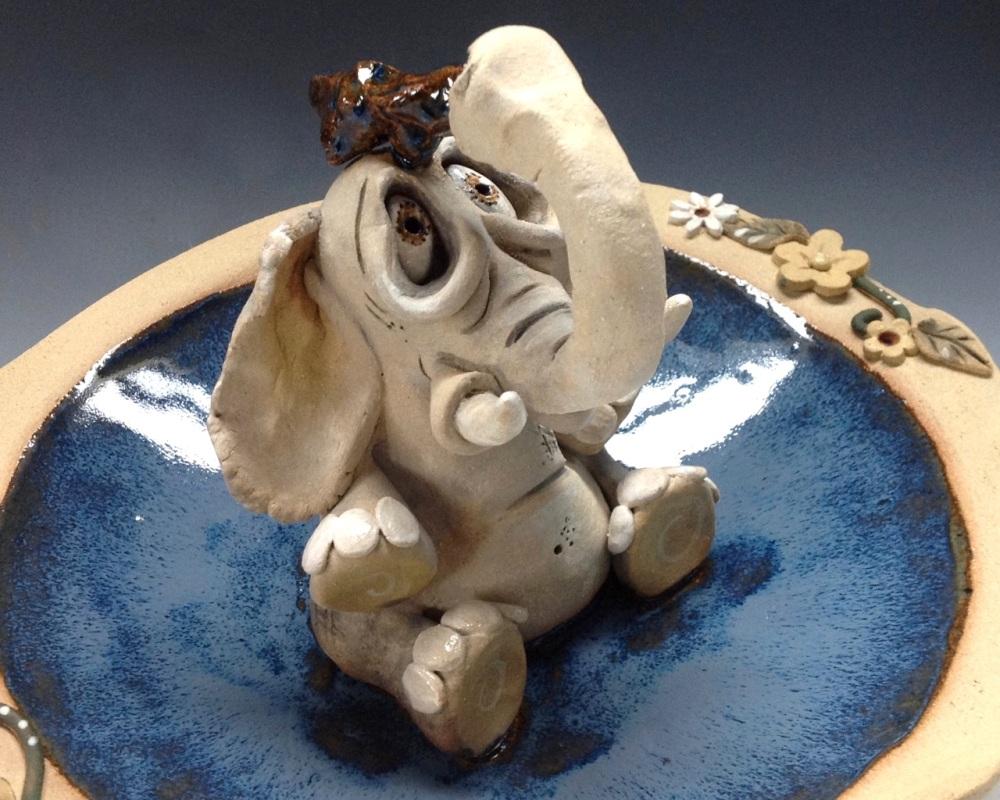 Elephant Ceramics Bowls