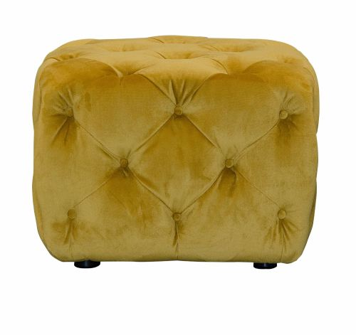 small sofas for rooms uk 2 piece sectional sofa leather button footstool yellow velvet