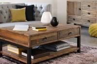 Distressed Wood Living Room Furniture | Zef Jam