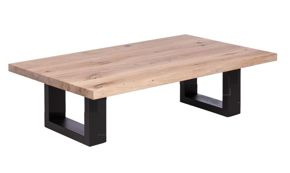 ayrton oak coffee table 140cm white oil finish