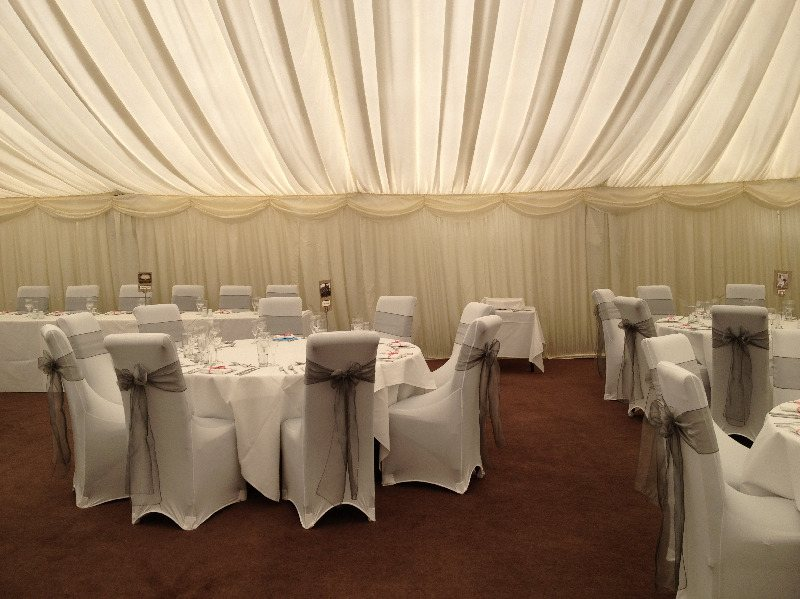 wedding chair cover hire west yorkshire patio sale covers sheffield white stretch dark grey organza bows