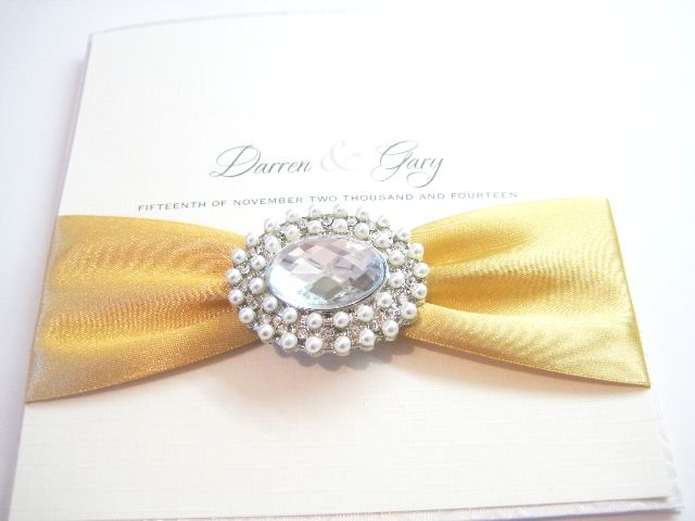 Elegant Wedding Invitations Styled With Luxury Brooches