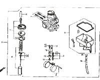 Honda RTL250 Parts