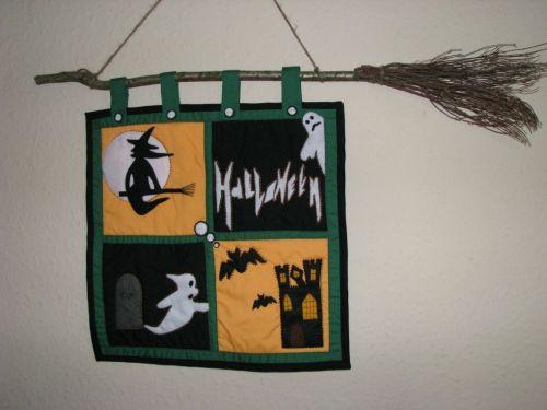 Wall Hanging Pattern - Halloween