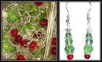 How to make Christmas Tree Earrings
