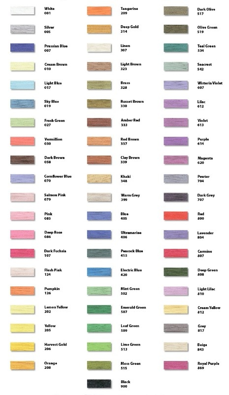 Brother chart also colour charts rh embroideredjust