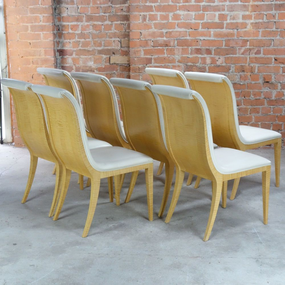 Art Deco Dining Chairs Eight Art Deco Style Dining Chairs Colin Pender Antitques